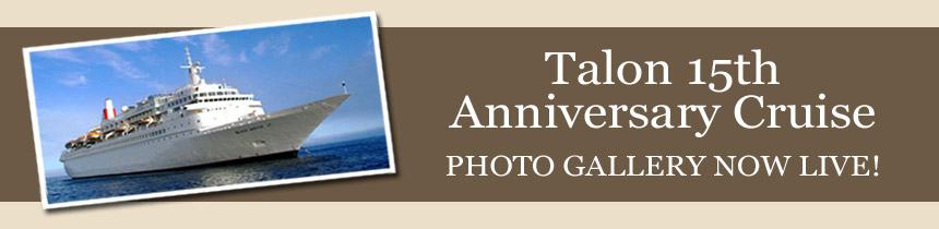 Talon 15th Anniversary Cruise Banner