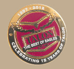 Talon 15th Anniversary Badge