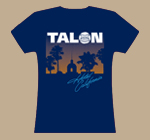 Ladies Navy Hotel California T-Shirt